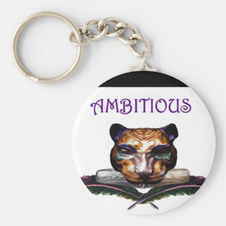 Ambitious- The feline Key Chains
