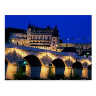 Amboise Castle, France, Postcard