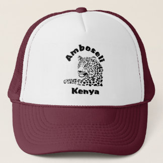 Amboseli Kenya Leopard Safari Cap