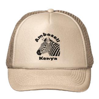 Amboseli kenya Zebra Safari Cap Trucker Hat