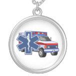 Ambulance de SME Pendentif Rond