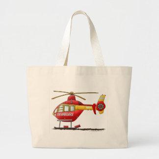 Ambulance médicale d'hélicoptère de délivrance de  sac en toile jumbo