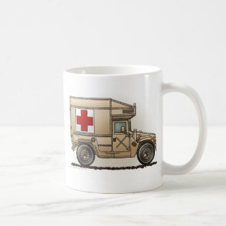 Ambulance Military Hummer Medic Coffee Mug