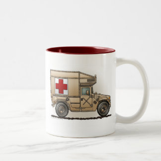 Ambulance Military Hummer Mugs