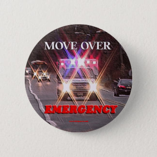 Ambulance_Move_Over.gif 2 Inch Round Button