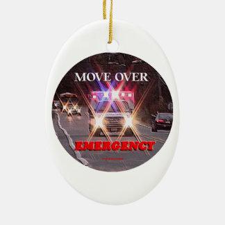 Ambulance_Move_Over.gif Ceramic Ornament
