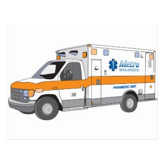 Ambulance Postcard