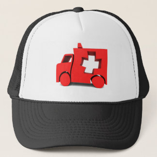 ambulance trucker hat