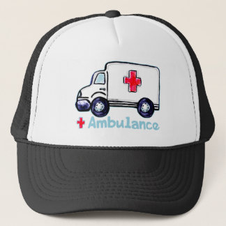 Ambulance Trucker Hat