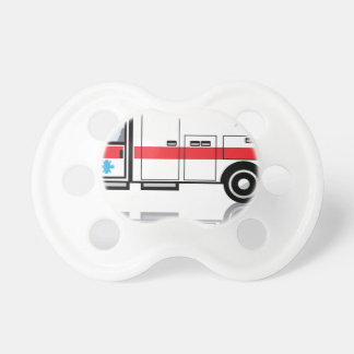 Ambulance vector pacifiers