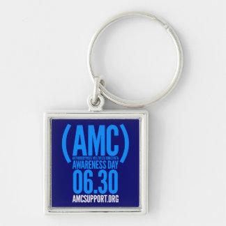 AMC awareness day logo keychain