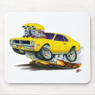 AMC Javelin Yellow Car Mouse Pad