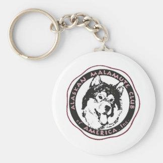 AMCA Logo Basic Round Button Keychain