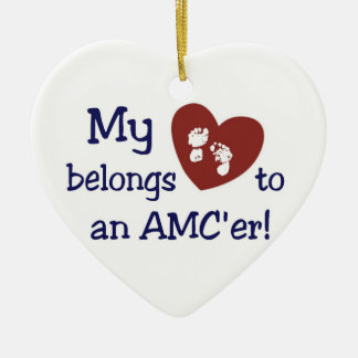 AMCer Heart Ornament