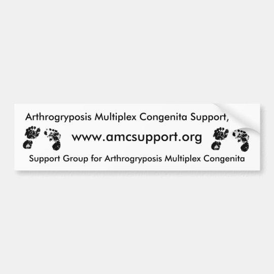 AMCSI Arthrogryposis bumbersticker Bumper Sticker