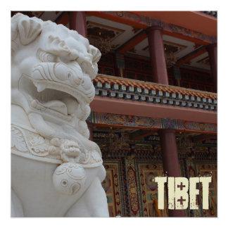 Amdo Tibetan Art Museum Poster