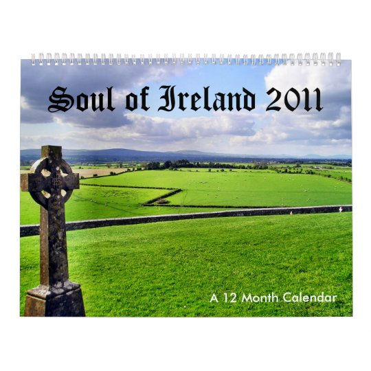 Âme de calendrier de l'Irlande 2011