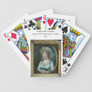 Amélie Julie Candeille 1791 Bicycle Playing Cards