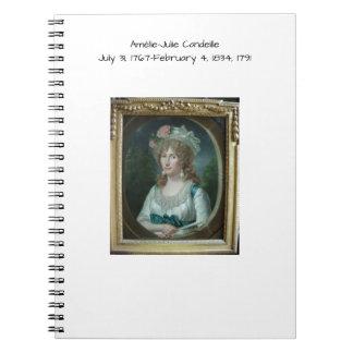 Amélie Julie Candeille 1791 Notebook