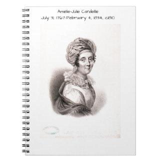 Amélie Julie Candeille c1810 Notebook