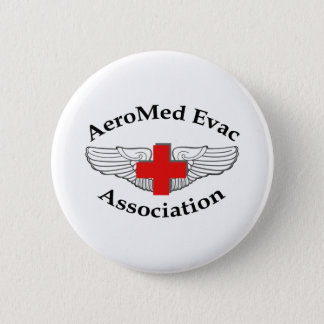 AMEA Logo drop shadow version 2 Inch Round Button