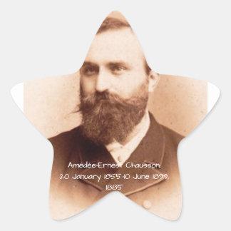 Amedee-Ernest Chausson Star Sticker