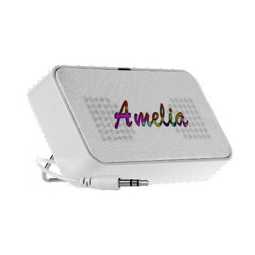 Amelia doodle speaker