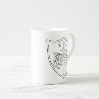 Amelia DragonHunter Coat of Arms Bone China Mug