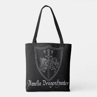 Amelia DragonHunter Coat of Arms Tote Bag
