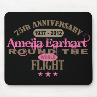 Amelia Earhart 75 Year Anniversary Mouse Pads
