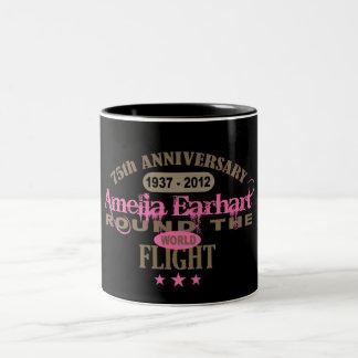 Amelia Earhart 75 Year Anniversary Mug