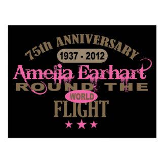 Amelia Earhart 75 Year Anniversary Post Cards