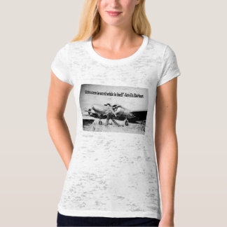 Amelia Earhart- Adventure quote T-Shirt