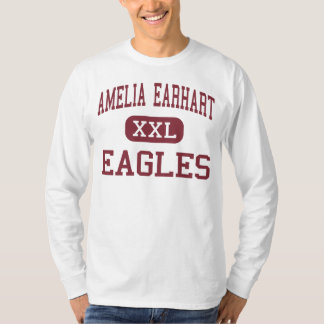 Amelia Earhart - Eagles - Middle - Riverside T-Shirt