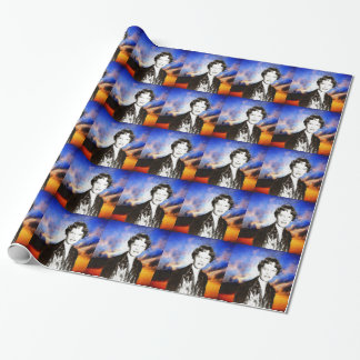 Amelia Earhart Wrapping Paper