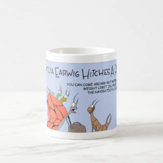 Amelia Earwig hitches a ride Coffee Mug