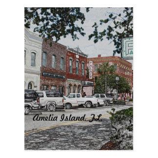 Amelia Island, FL. postcard