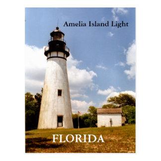 Amelia Island Light, Florida Postcard