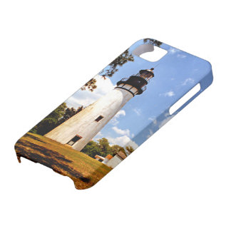 Amelia Island Lighthouse, Florida iPhone Case 5/5s