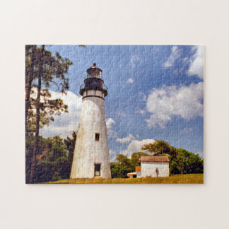 Amelia Island Lighthouse, Florida Jigsaw Puzzle