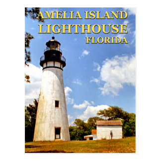 Amelia Island Lighthouse, Florida Postcard