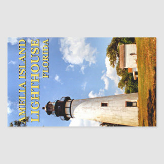 Amelia Island Lighthouse, Florida Stickers