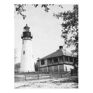 Amelia Island Lighthouse Postcard