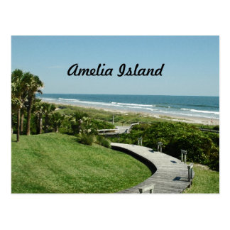 amelia island postcard