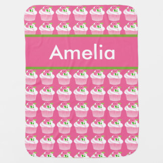 Amelia's Personalized Cupcake Blanket