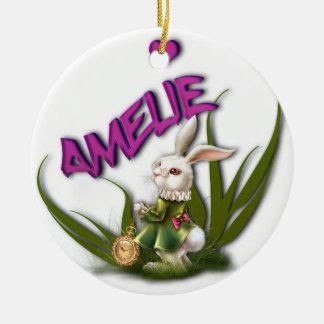 Amelie Ceramic Ornament