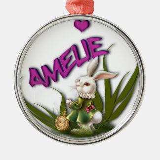 Amelie Metal Ornament