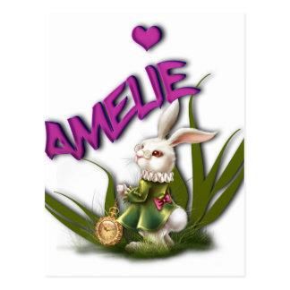 Amelie Postcard