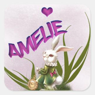 Amelie Square Sticker