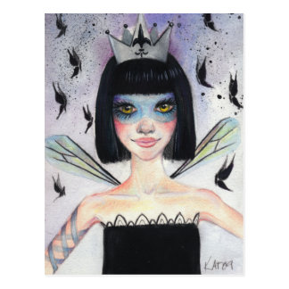 Amelie the faerie postcard